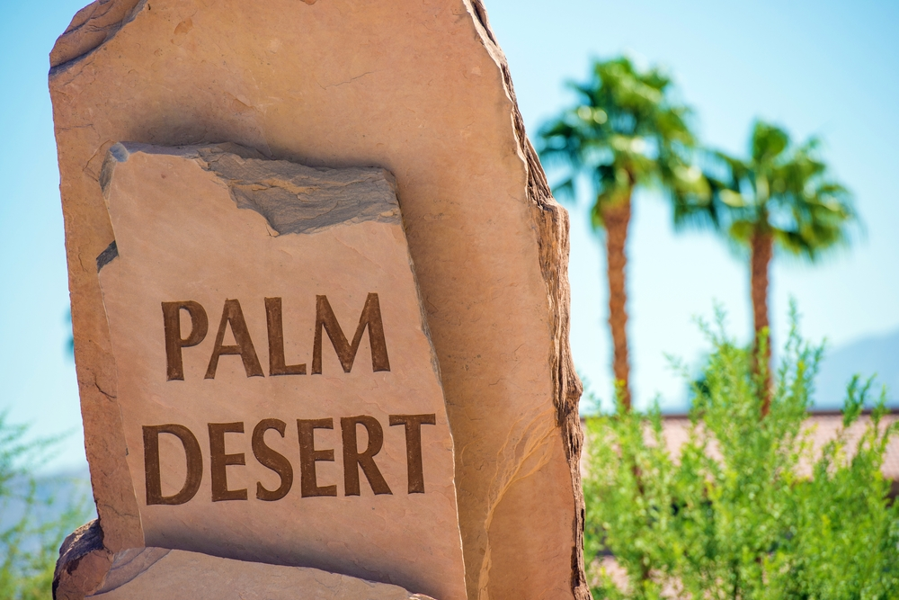 Places to lounge in Palm desert