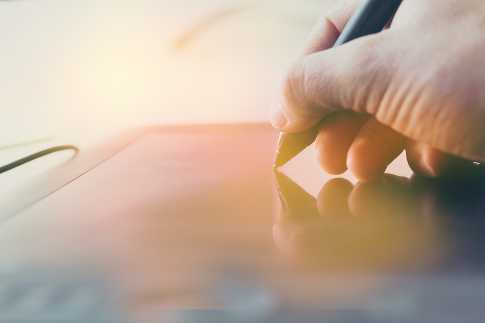 How is a digital signature used?